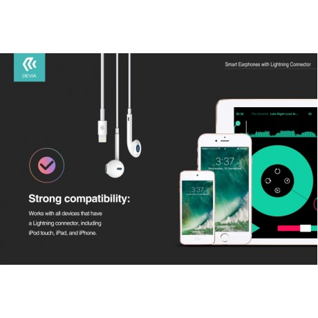 Auricular Devia Smart Lightning para iPhone